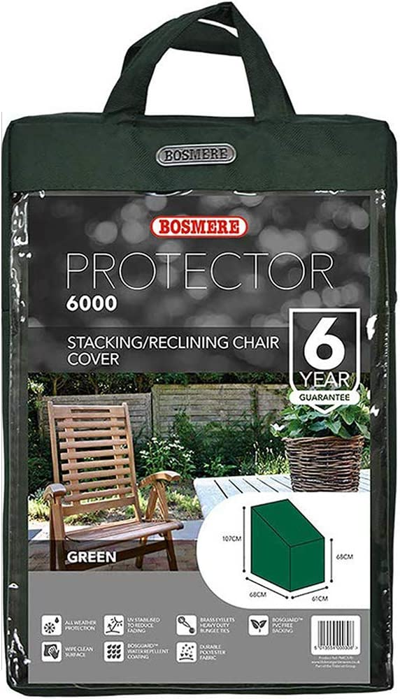 Bosmere C570 Stacking Chairs Cover 42-Inch High at Back 27-Inch at Front x 27-Inch Deep x 24-Inch Wide