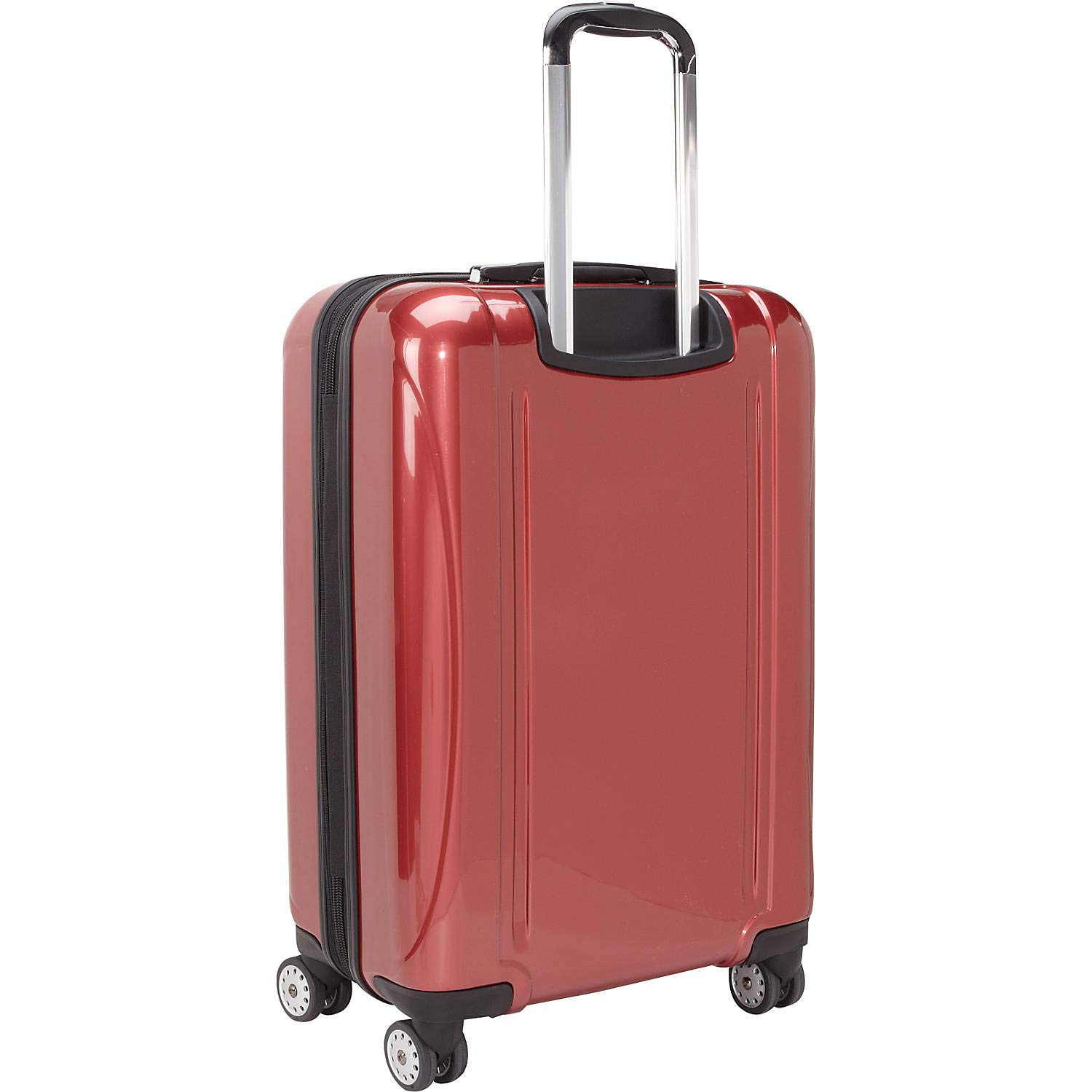 (デルセー) Delsey Men`s Helium Aero 26` Exp. Spinner Trolley デルシー メンズ スーツケース バッグ (並行輸入品) B07QHRP9J3 Brick Red One Size