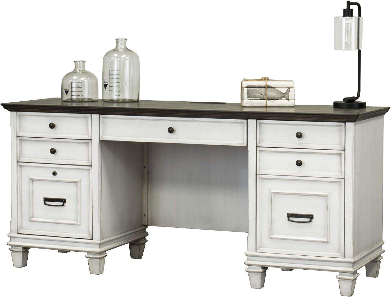 Martin Furniture Credenza, White