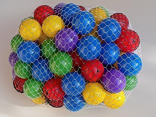 "Play Balls Non-toxic 200 ""Phthalate Free"" Crush Proof Non-recycled Quality Play Balls"