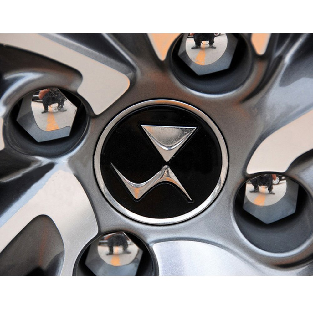 itimo 20/Bolt Felgen Schutz 17/mm Auto Hub Schraubenabdeckung Auto Styling Auto Radmuttern-Kappen Spezial Stecknuss Au/ßen Dekoration