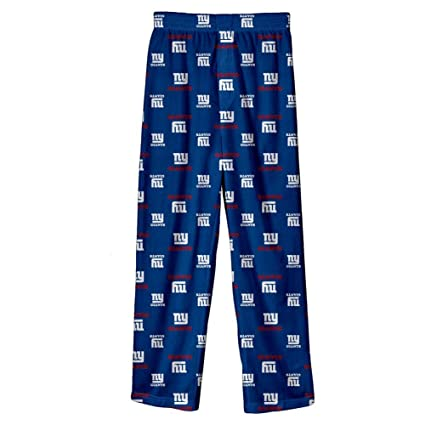4e956e71bf Image Unavailable. Image not available for. Color  Outerstuff New York  Giants Youth NFL All Over Team Logo Pajama Sleep Pants
