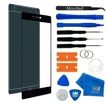 MMOBIEL Kit de Reemplazo de Pantalla Táctil para Huawei P8 (Negro) Incluye Pantalla de Vidrio/Cinta Adhesiva de 2 mm/Kit de Herramientas/Limpiador de ...