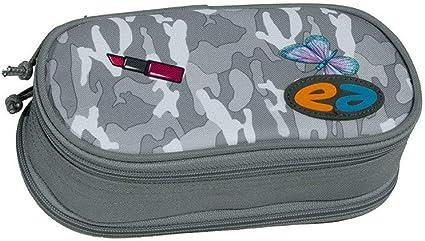 yzea estuche lápices – Estuche con compás compartimento WOW gris: Amazon.es: Oficina y papelería