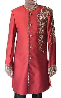 INMONARCH Sherwani for Men Wedding Green Indo Western Partywear Men Sherwani IN144