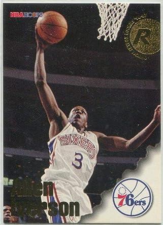 1996-97 Stadium Club Rookies 1 #R1 Allen Iverson NM-MT