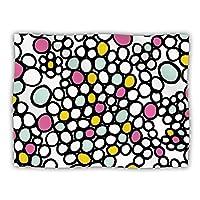 "Kess InHouse Emine Ortega ""Pebbles Pink"" Dog Blanket, 60 by 50-Inch"