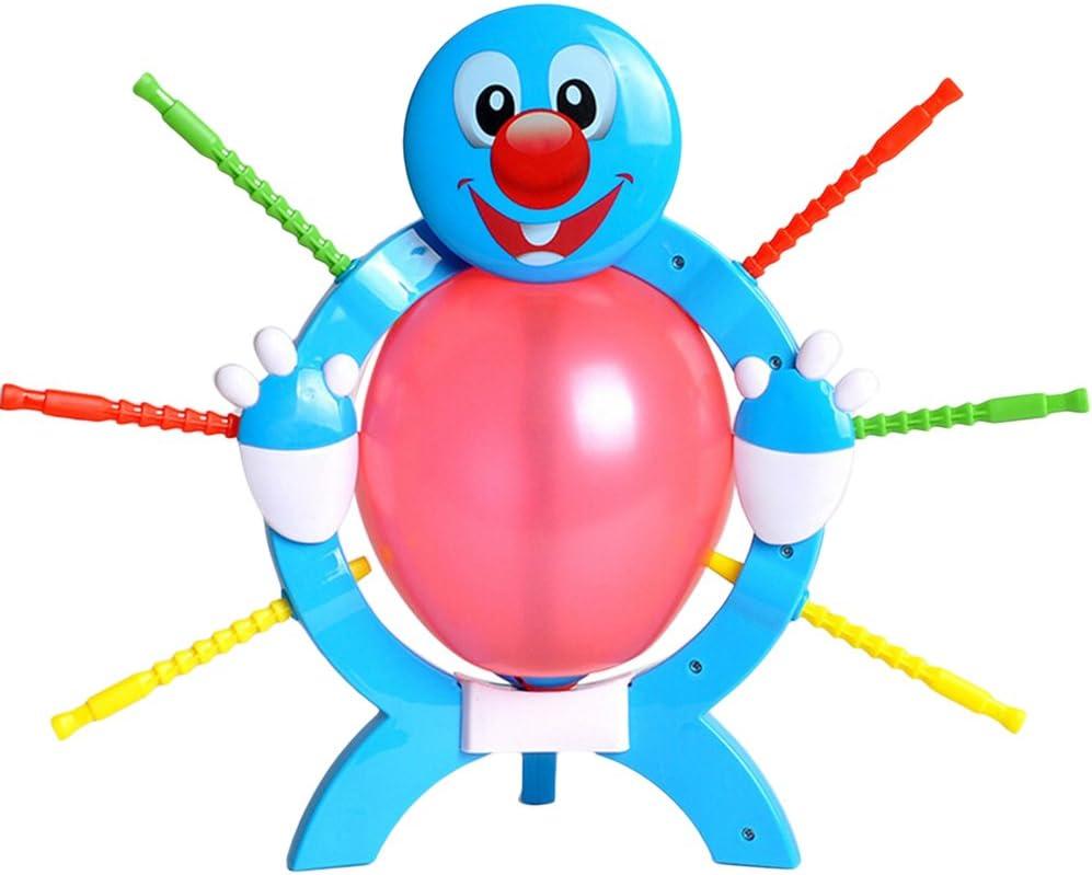 Yeahibaby Balloon Boom Burst Board Game Interacción entre padres e hijos Juego familiar (azul): Amazon.es: Juguetes y juegos