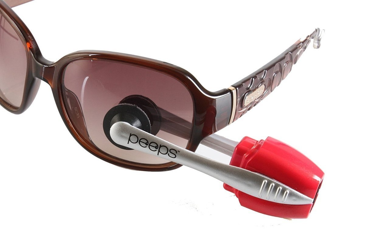 8c70cffaba Amazon.com  Peeps Eyeglass Cleaner - Lens Cleaner for Eyeglasses and  Sunglasses - Glasses Cleaner for All Types of Eye Wear  Home Audio   Theater