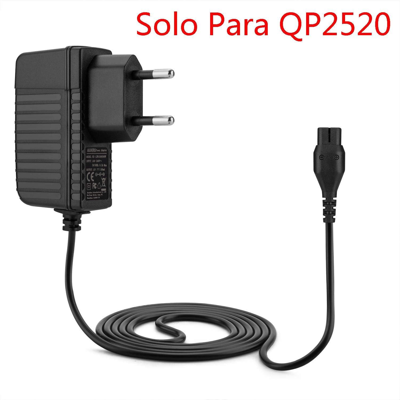 Aukru Cargador 4.3V Fuente de Alimentación para Philips OneBlade QP2520