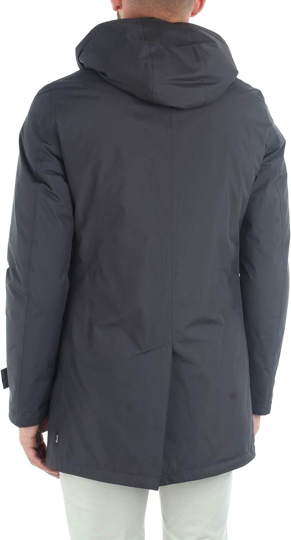 Herno - Cappotto Imbottito Con Cappuccio rimovibile Gris
