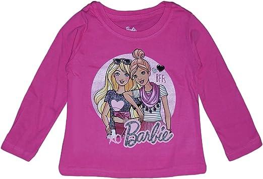 Barbie Camiseta De Algodón para Niñas (8 Años): Amazon.es: Ropa y ...
