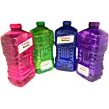 Little Kids Fubbles No-Spill Bubble Tumbler Solution Refill Bottle (100 Oz. Jumbo Refill with Jumbo Wand) colors may vary