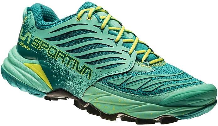 La Sportiva Akasha - Zapatillas para correr - Turquesa/Azul ...