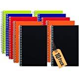 "1InTheOffice Wirebound Spiral Memo Books, Memo Pads, 4"" x 6"", College Ruled, Small Notepad 4x6, Assorted, 50Sheets/Pad…"