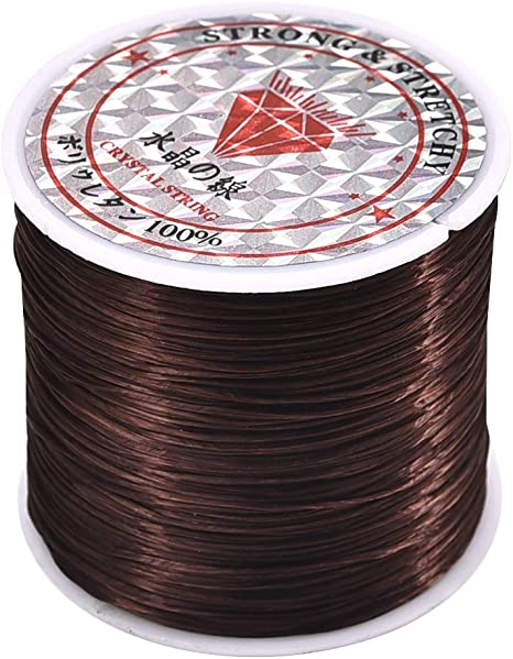 60M Strong Stretchy Elastic Crystal Thread Cord String for Bracelet Beading DIY