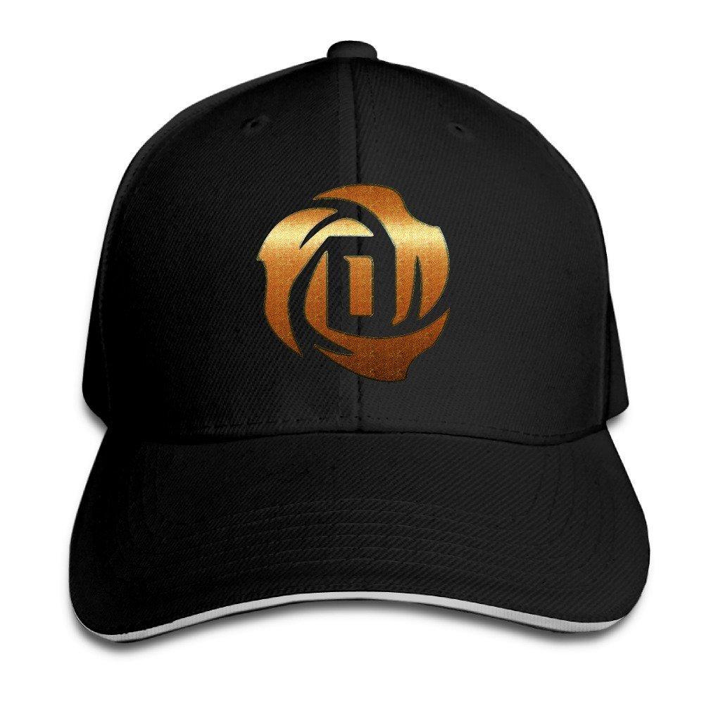 Hittings Derrick Rose Sandwich Peaked Hat//cap Black