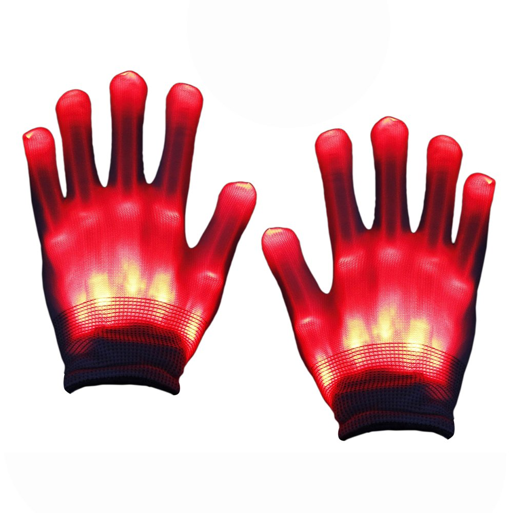 TOPTOY Boys Toys Age 5-8, Toys Flashing Gloves Led Costume Toys for 3-12 Year Old Boys Girls Toys for Kids Gifts for 3-12 Year Old Girls TTUSTTH05