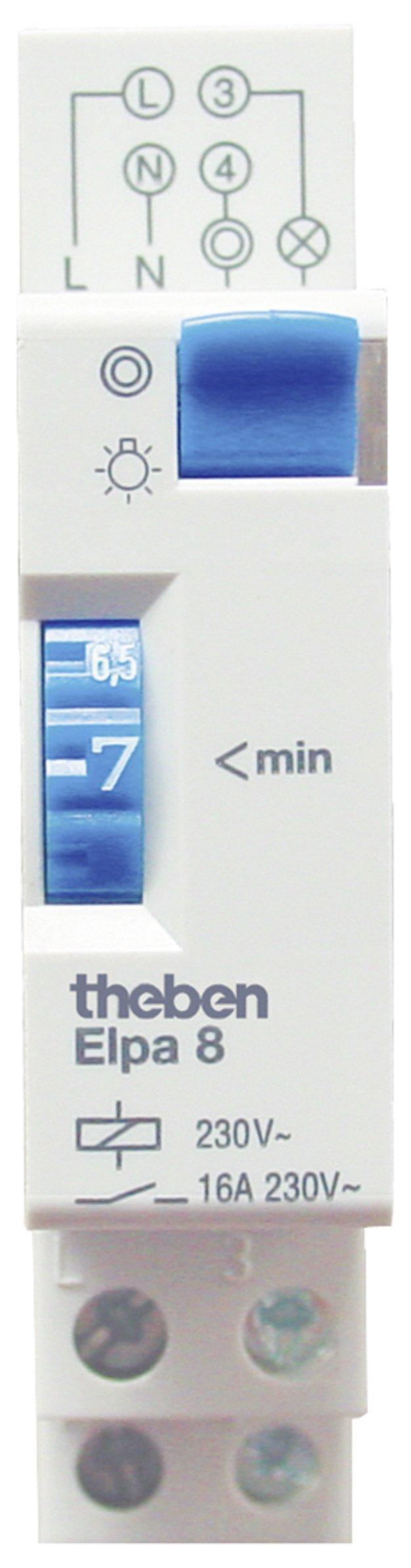 Theben ELPA 8 - Temporizador para luz de la escalera product image