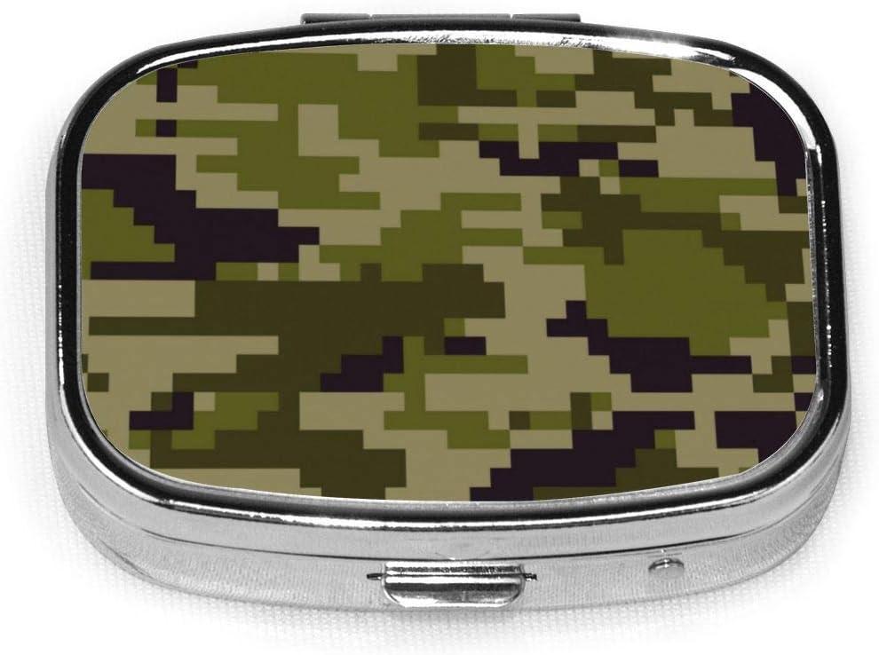 Caja de píxel digital personalizada, cuadrada, caja decorativa, contenedor de vitaminas, bolsillo o cartera