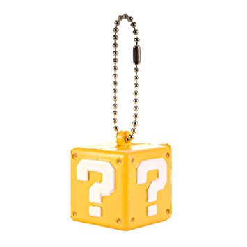 Super Mario 3D World Funyu Squeeze Llavero - Question Block ...