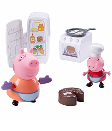 Buy Peppa Pig S Kitchen Set Playset Online At Low Prices In India