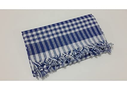 Tablecloth Linen 100% Cotton 64x64 Inch Plaid Summer Dining Tablecloth  Picnic Blanket Table Cover Gingham