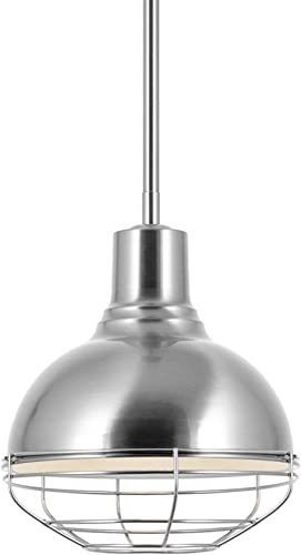 Kira Home Liberty 10″ Modern Industrial Farmhouse Pendant Light