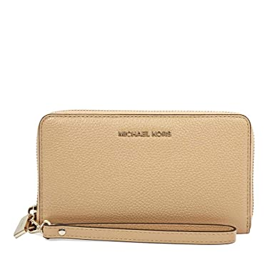 1bb1ccd847c0b1 MICHAEL by Michael Kors Jet Set Travel Pale Gold Continental Wallet ...
