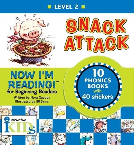 Now I'm Reading! Level 2: Snack Attack (NIR! Leveled (Snack Attack)