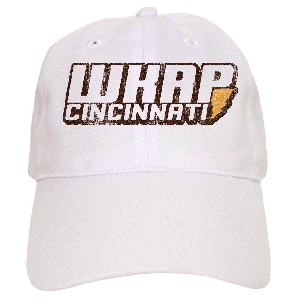 a1b1f897fdc22 Amazon.com  CafePress - WKRP in Cincinnati Cap - Baseball Cap with  Adjustable Closure