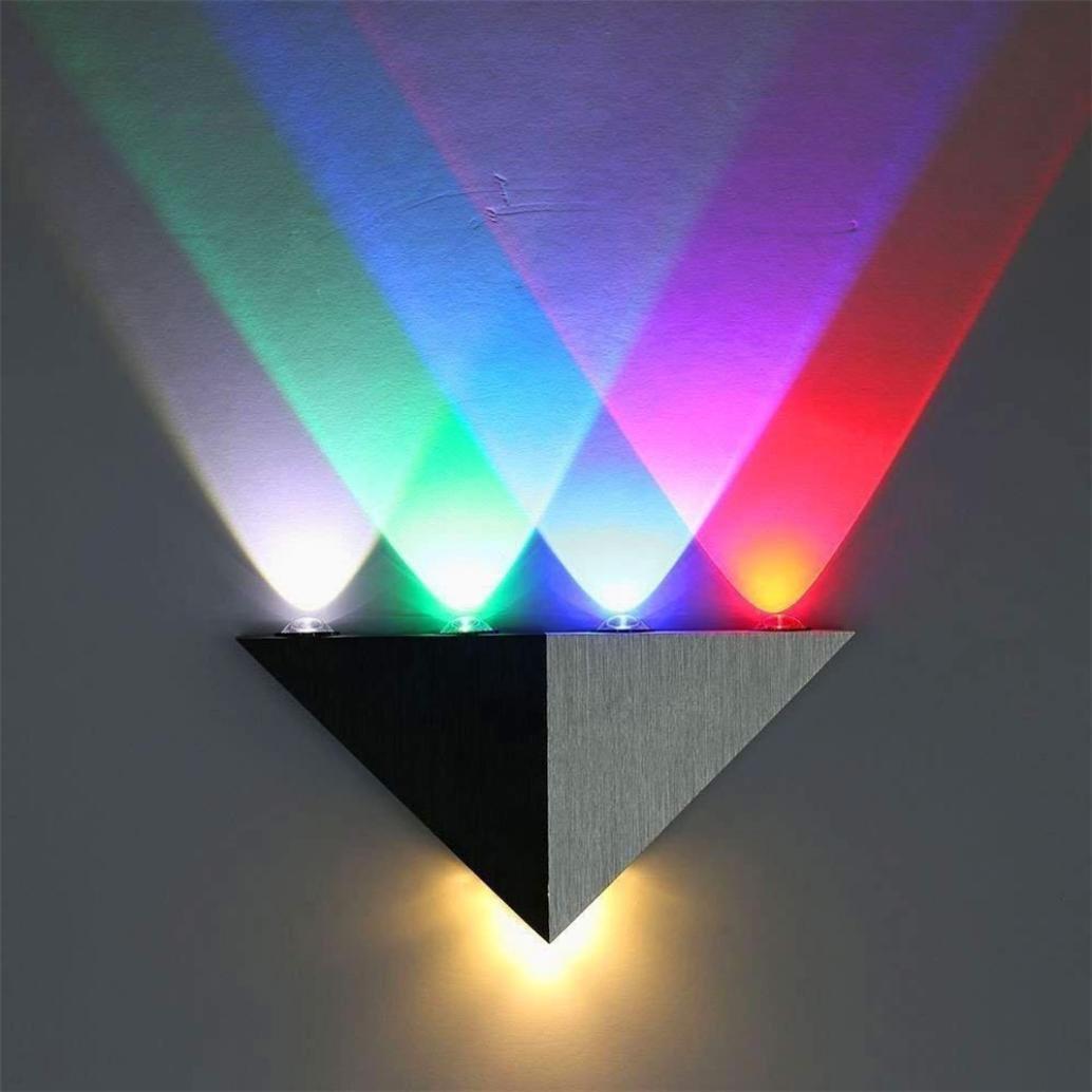 DDLBiz Modern 5W LED Wall Sconce Light Fixture Wall Lamp Spot Light Decorative Lighting (A)