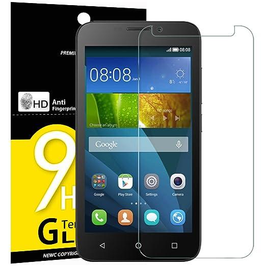 5 opinioni per Vetro Temperato Huawei Y5, Pellicola Protettiva NEW'C® in Vetro Temperato Screen