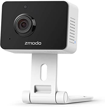 [2021 Upgrade]Zmodo 1080P Mini Pro, Plug-In WiFi Indoor Security Camera, Human/Vehicle/Pet Motion Dection, Baby Monitor Nanny Camera, Two-Way Audio Night Vision, Work with Alexa