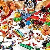 Rhode Island Novelty Christmas Assortment Toys (50 Piece)