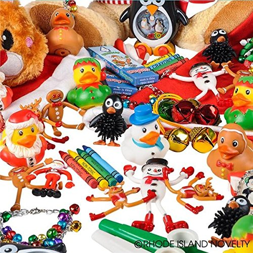 Rhode Island Novelty Christmas Assortment Toys (50 Piece)