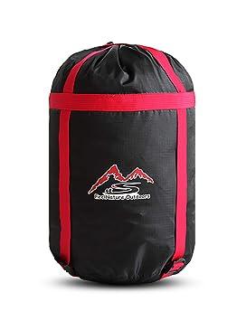 Lixada Bolsa de Compresión Multifuncional Saco de Almacenamiento de Saco de Dormir Bolsa de Almacenamiento para Acampada Senderismo Viajes: Amazon.es: ...