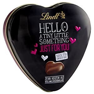 Lindt HELLO Heart Tin