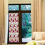 Best Home Fashion Non-adhesive Frosted Privacy Window Films - TecBillion Privacy Window Film,Fashion,for Home Office School,Trendy Woman Review