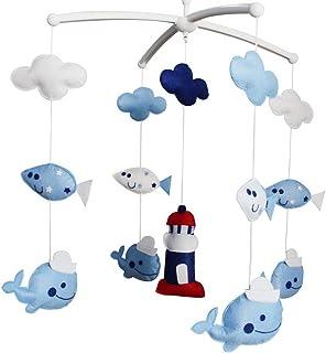 Baby Dream Musical Mobile, Baby Gift colorato, [Faro e balene]