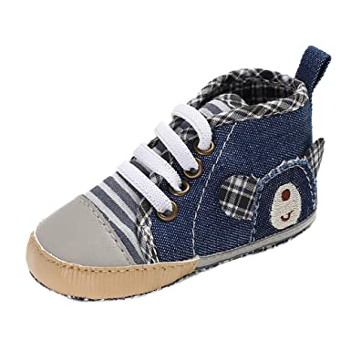 0a0736d2775 Amazon.com  Newborn Infant Baby Boys Walking Shoes for 0-18 Months ...