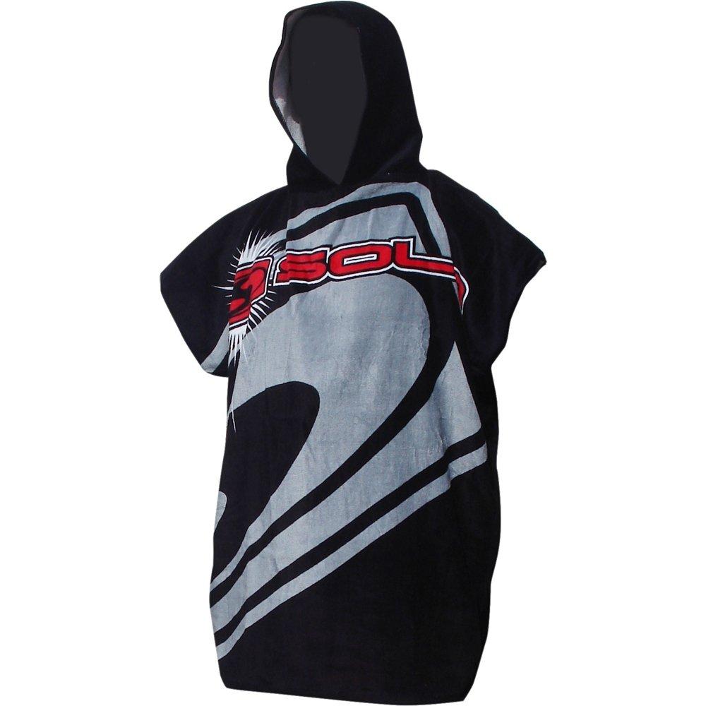Extrêmement Enfants et adultes Strandkorb Changer Robe plage Poncho serviette  ZA76