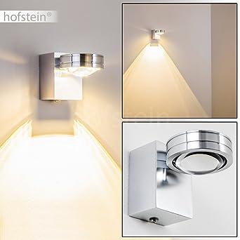Elegant LED Wandlampe Florenz   Wandstrahler IP44 Für Badezimmer, Wohnzimmer,  Schlafzimmer, Flur   Wandspot