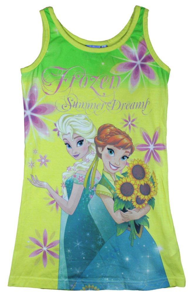 Disney Girls Frozen Beach Cover up Sun Dress Cotton - by Jujak