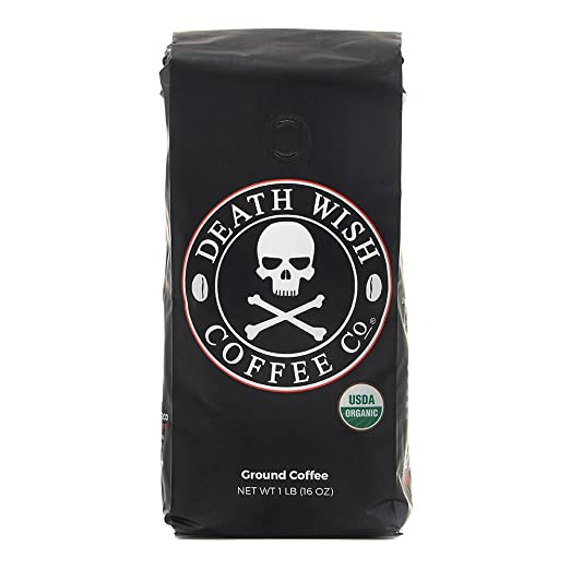 Death Wish Ground Coffee, The World' Strongest Coffee