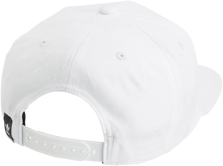 info for 36fae 44757 adidas New Men s Courtside Snapback Hat White  Amazon.co.uk  Sports    Outdoors