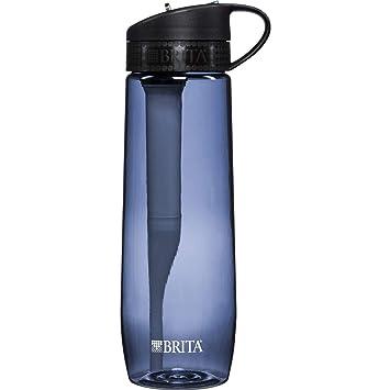 brita hard sided water filter bottle, grey, 23.7 ounces: .ca ...