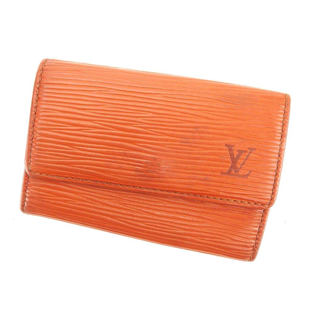 (ルイ ヴィトン) Louis Vuitton キーケース 6連キーケース ブラウン ゴールド ミュルティクレ6 エピ メンズ可 中古 T6282   B079S6W33Q