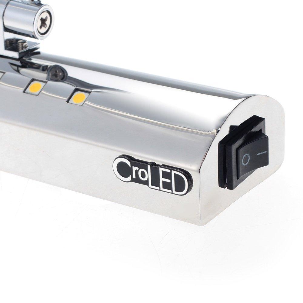 6W 5050SMD 27 LEDs Lampe Applique Éclairage Blanc Chaud pr Salle de ...