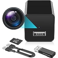 Hidden Camera - 1080P Spy Camera with Audio and Video - Mini Nanny Cam - Portable Motion Detection Small HD Secret…
